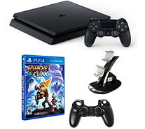 Sony PlayStation 4 1TB Bundle with Ratchet & Clank and Accs. - E291284