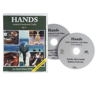 HANDS Traditional Crafts of Ireland 2 DVD Set - E168285