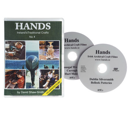 HANDS Traditional Crafts of Ireland 2 DVD Set