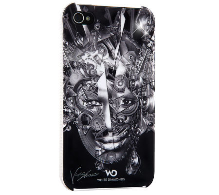 White Diamonds The Mechanist iPhone 4 Case