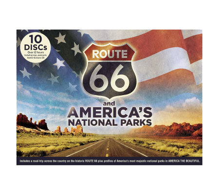 Route 66 and America's National Parks DVD Set,Bonus CD