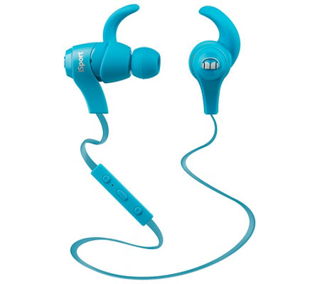 Monster iSport Bluetooth Wireless In-Ear Headphones