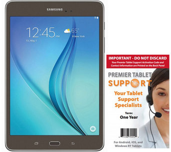 "Samsung Galaxy Tab A 8"" - 16GB, 1.5GB RAM & 1-Yr Tech Support - E287585"