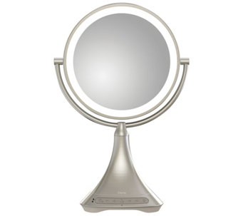 iHome Large Bluetooth Speaker Vanity Mirror - E288485