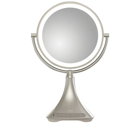 iHome Large Bluetooth Speaker Vanity Mirror