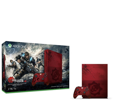 Xbox One S 2TB Console - Gears of War 4 LimitedEdition Bundle
