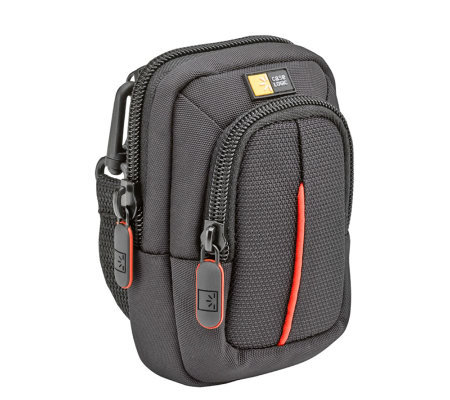 Case Logic Camera Case with Storage Pocket - Black