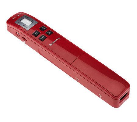 pandigital 8 5 x14 portable wand scanner w software. Black Bedroom Furniture Sets. Home Design Ideas