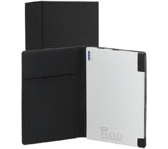 HALO 3000 mAH Ultra Slim Portable Charger w/ RFID Card Wallet - E227486