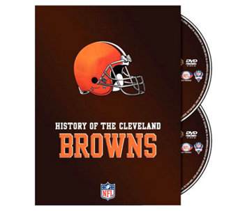 NFL History of the Cleveland Browns 2-Disc Set - E265986