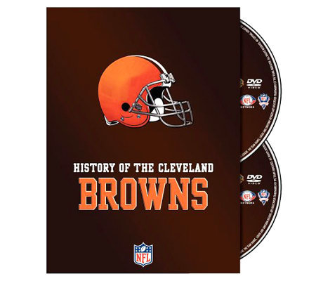 NFL History of the Cleveland Browns 2-Disc Set