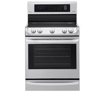 LG 6.3-Cubic Foot Electric Single Convection Oven - E288686