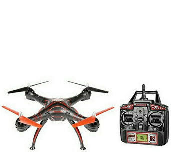Wraith Drone with HD Camera/1080p Video &Remote - E288786