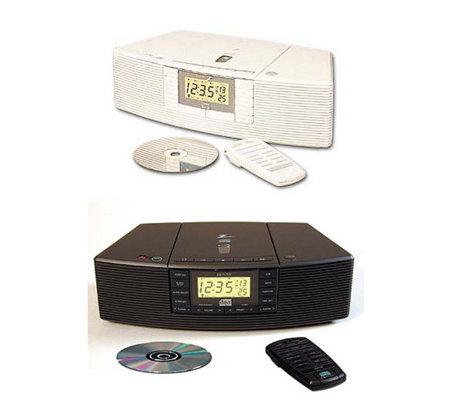 Zenith AM/FM Stereo CD Clock Radio w/ Dual Alarm — QVC.com |Zenith Clock Radio