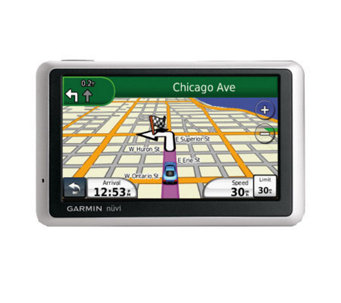 "Garmin Nuvi 1350 4.3"" Diag. Widescreen Ultra-Thin Portable GPS - E206387"