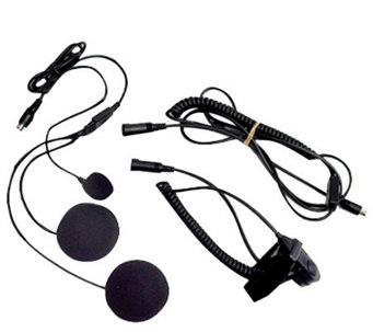 Closed-Face Helmet Headset Speaker/Microphone - E214187