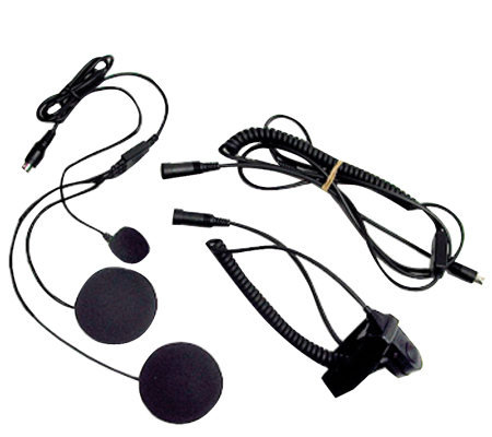 Closed-Face Helmet Headset Speaker/Microphone
