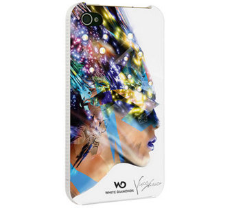 White Diamonds White Nafrotiti iPhone 4 Case - E263387