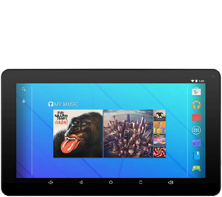 "Ematic 10"" HD Tablet - 8GB, Quad-Core, Android5.0"