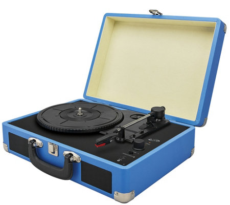 iLive Bluetooth Briefcase Turntable