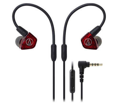 Audio-Technica Dual-Armature Driver Earbuds