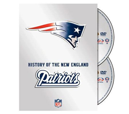 NFL History of the New England Patriots 2-DiscSet