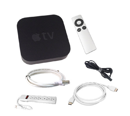 Apple TV Bundle with HDMI and Network Cable