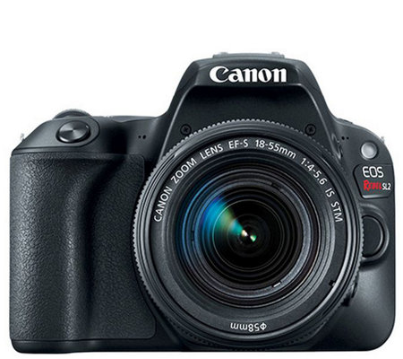 Canon EOS Rebel SL2 DSLR Camera with EF-S 18-55mm f/4-5.6 Kit