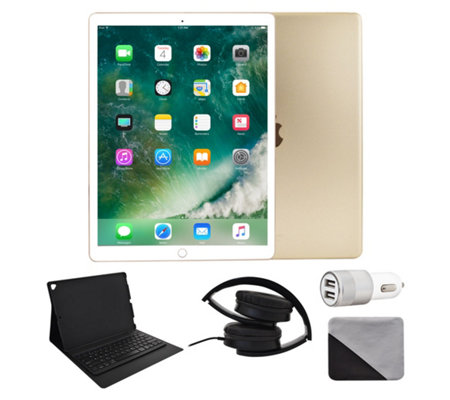 "Apple iPad Pro 12.9"" 64GB Wi-Fi & 4G with Accessories - Gold"