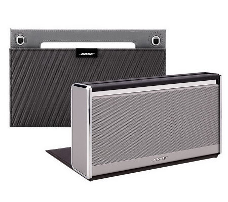 bose soundlink wireless mobile speakerlx with car charger u0026 cover