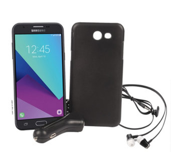 "Tracfone Samsung Galaxy J3 Luna Pro 5"" w/ Case & 1500 Min/Text/Data - E231789"