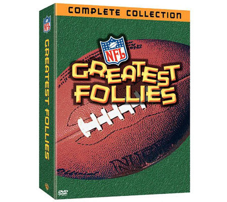 NFL Greatest Follies Collection Gift Set 3-DiscDVD Set