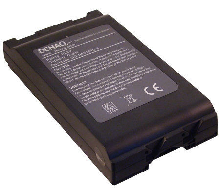 Denaq Rechargeable Battery - Toshiba Portege, Satellite, Tecr