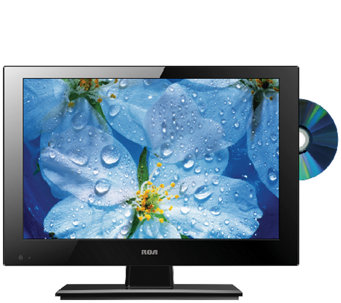 "RCA 13"" Class LED HDTV with Built-in DVD Player - E285589"
