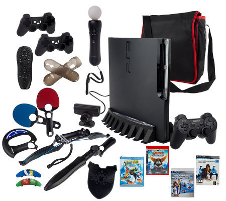 PlayStation Move Bundle with 320GB PS3 Console& Sports Champions Game