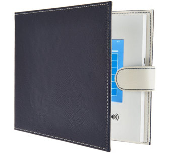 "Did-It 7"" LCD Video Memory Book in Faux Pebbled Leather Cover - E229190"