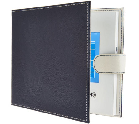 "Did-It 7"" LCD Video Memory Book in Faux Pebbled Leather Cover"
