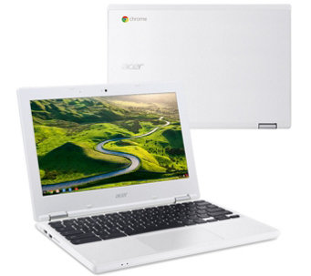 "Acer 11"" Chromebook Intel Dual Core 2GB RAM 16GB & Lifetime Tech - E229590"
