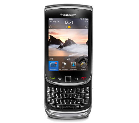 BlackBerry Torch 9800 GSM Unlocked Cell Phone -Black