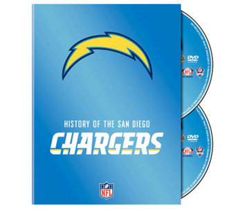 NFL History of San Diego Chargers 2-Disc Set - E265990