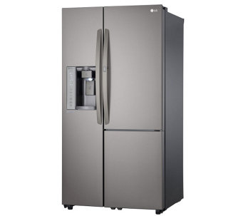 LG 26-Cubic Foot Side-by-Side Refrigerator - E288690