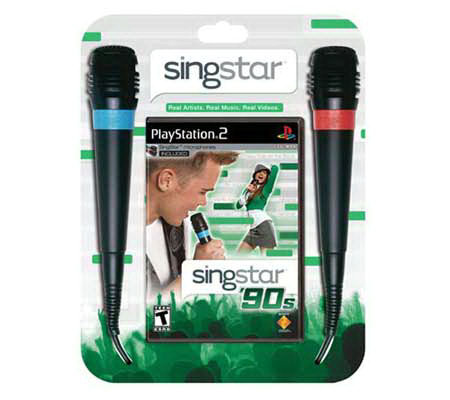 SingStar: '90s with Two Mics - PS2