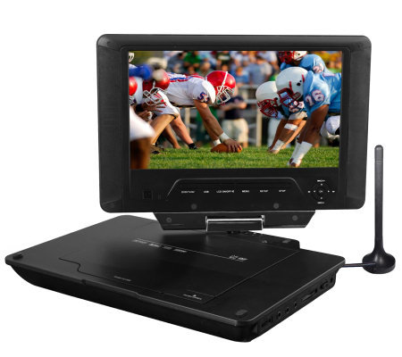 "Azend Group Envizen 9"" Diag. Portable DigitalTV/DVD Player"
