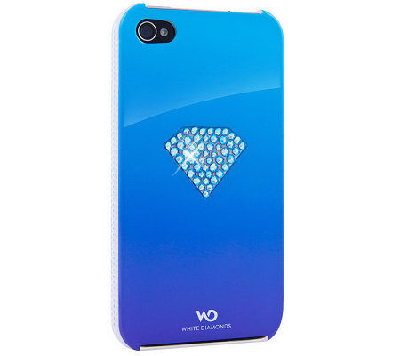 White Diamonds iPhone 4 Case