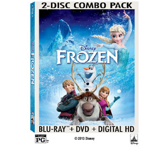 Disney's Frozen Two-Disc Blu-Ray - E279691