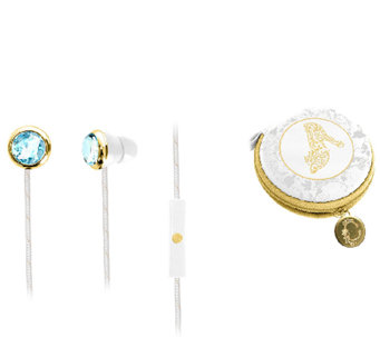 Cinderella Fashion Earbuds with Carrying Case - E284391