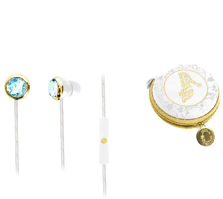 Cinderella Fashion Earbuds with Carrying Case