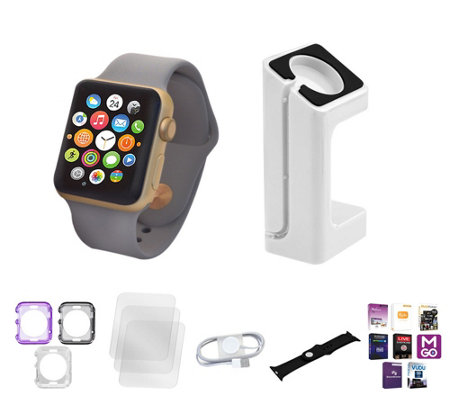 Apple Watch Series 1 38MM with Bumper Case & Screen Protector