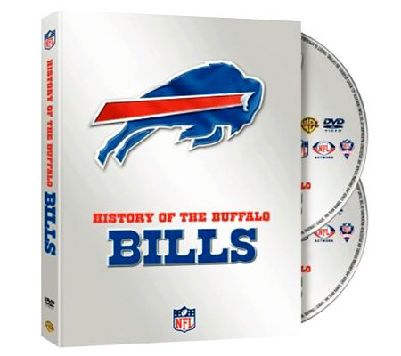 NFL History of the Buffalo Bills 2-Disc Set