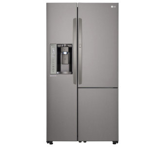 LG 26-Cubic Foot Side-by-Side Refrigerator - Energy Star - E288692